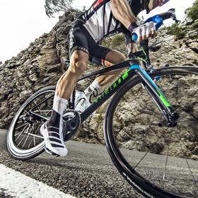 GripGrab RaceAero TT Raceday Lycra Shoe Cover Black/White